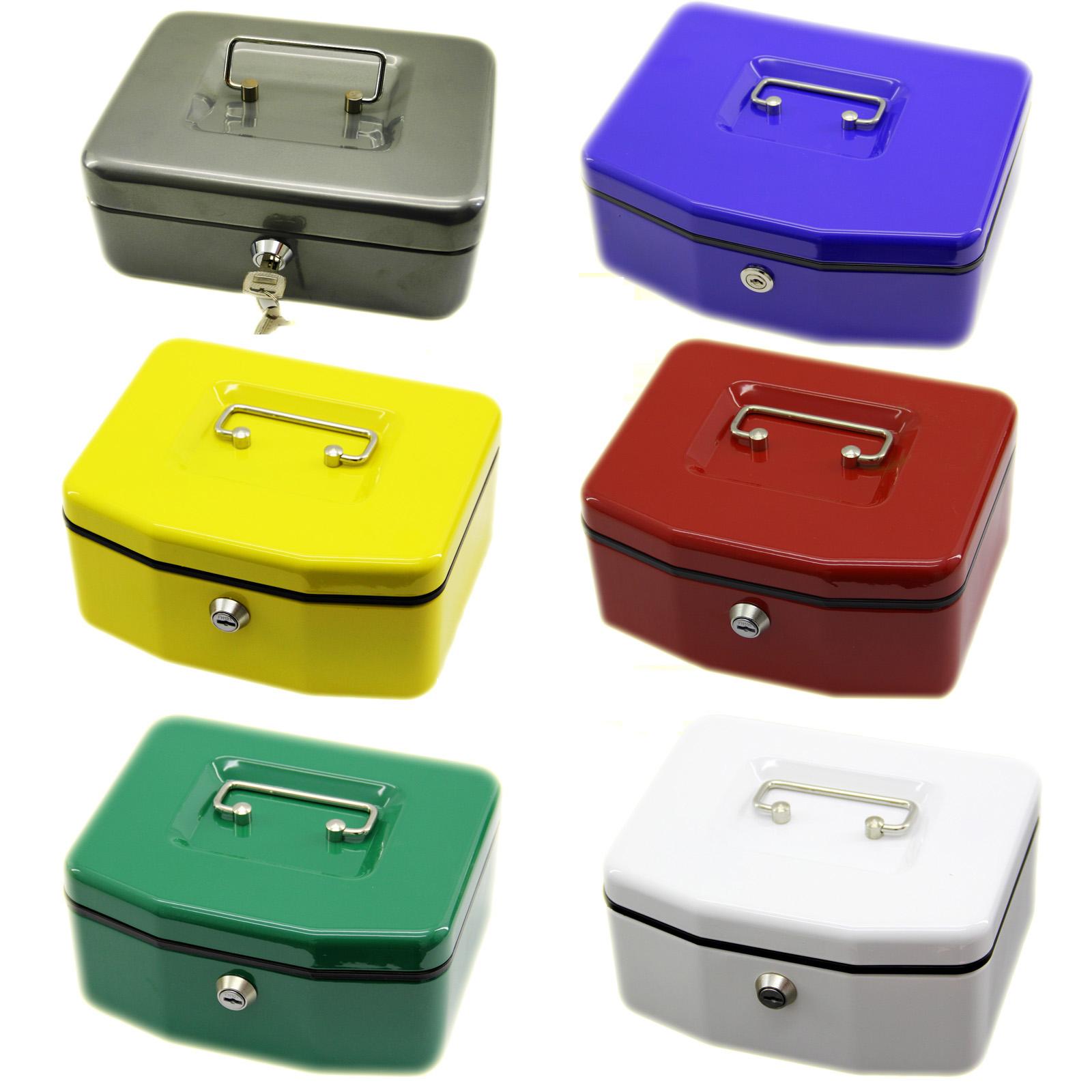 Geldkassette Geld Kasse Münzenkassette Transportkassette Geldbox Münzfächer