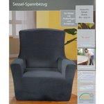 Sessel Sofa Spannbezug Sesselbezug Sofabezug Überzug Sitzbezug Überwurf 0378  Bild 4