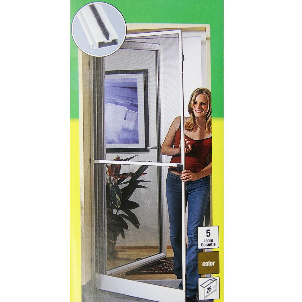 windhager insektenschutz t r fenster fliegengitter m ckenschutz zarge alu haushalt. Black Bedroom Furniture Sets. Home Design Ideas