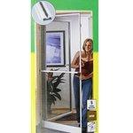 Windhager Insektenschutz Tür Fenster Fliegengitter Mückenschutz Zarge Alu Bild 6