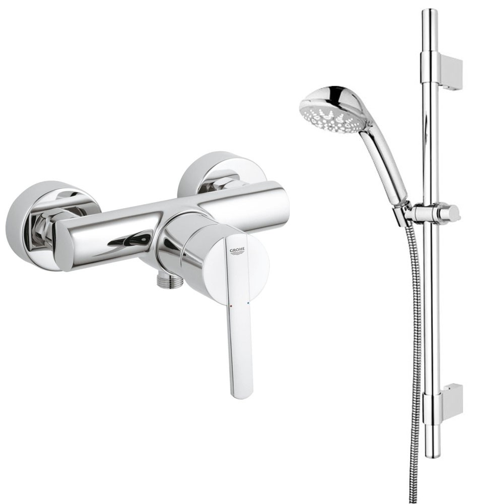 grohe bad armaturen sets armatur thermostat brause f r dusche o badewanne k che bad wc 3064. Black Bedroom Furniture Sets. Home Design Ideas
