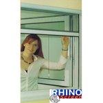 Insektenschutz Rollo 130x160cm Weiß Fliegengitter Netz Fenster Rhino Screen