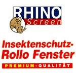 Insektenschutz Rollo 130x160cm Braun Fliegengitter Netz Fenster Rhino Screen  Bild 3