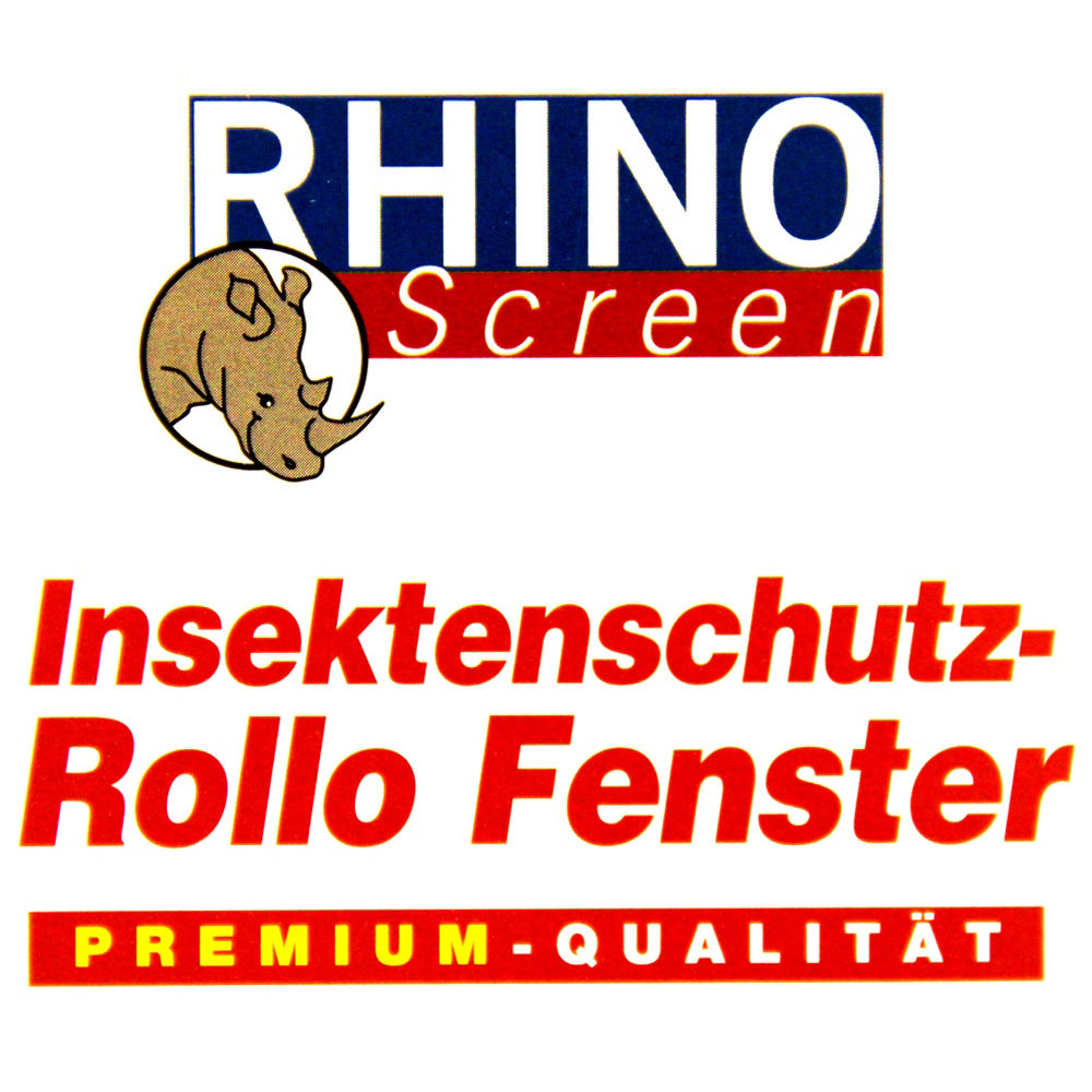 insektenschutz rollo 100x160cm braun fliegengitter netz fenster rhino screen ebay. Black Bedroom Furniture Sets. Home Design Ideas