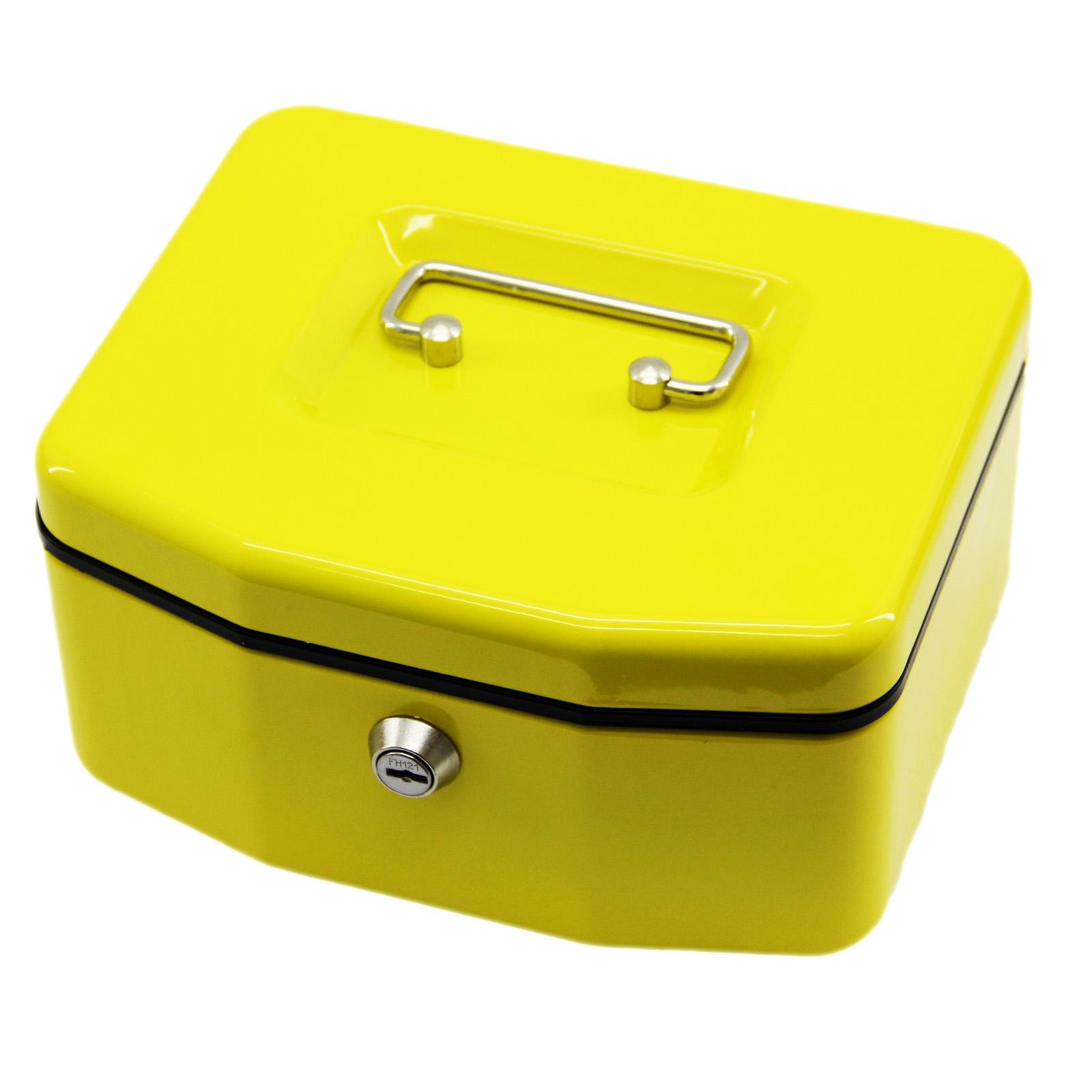Wesco Geldkassette Geldkasse Geldbox Münzkassette 8 Münzfächer Stahlblech