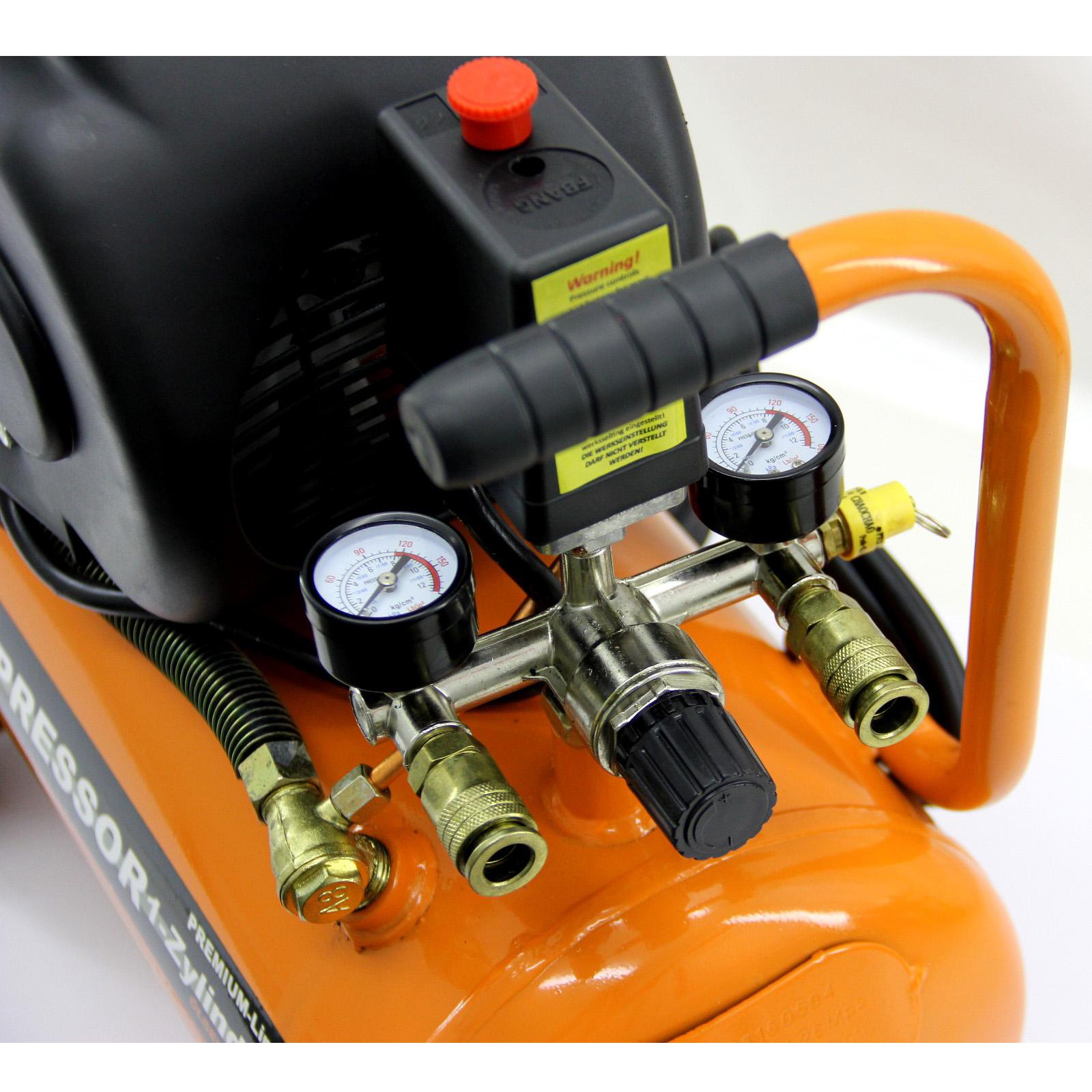 druckluft kompressor luftkompressor 8 bar 1500watt 24l. Black Bedroom Furniture Sets. Home Design Ideas